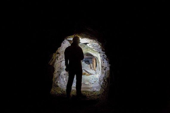 Vidmanto Balkūno/15min.lt nuotr./Apleista urano kasykla Lenkijoje