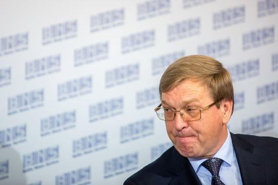 """Vidmanto Balkūno / 15min nuotr./ """"Lietuvos geležinkeliai"""" generalinis direktorius Stasys Dailydka"""