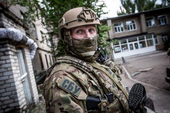 Vidmanto Balkūno / 15min nuotr./Ukrainos saugumo tarnyba