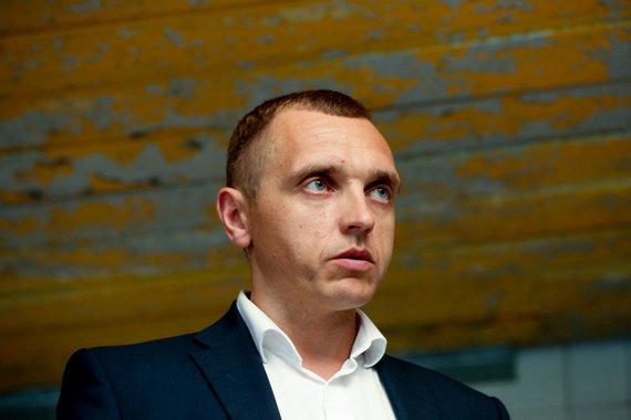 """Vidmanto Balkūno / 15min nuotr./""""Irdaiva"""" generalinis direktorius Vitas Lopinys"""