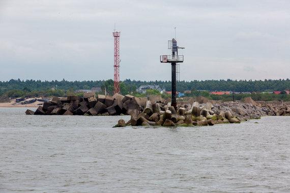 Vidmanto Balkūno / 15min nuotr./Klaipėdos jūrų vartai