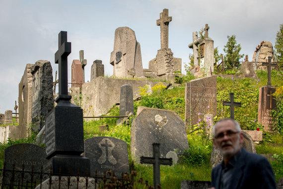 Vidmanto Balkūno / 15min nuotr./Kompozitoriaus Mikalojaus Konstantino Čiurliono kapas Rasų kapinėse