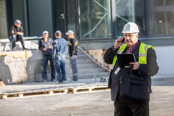 Vidmanto Balkūno / 15min nuotr./Valstybinės darbo inspekcijos patikrinimas