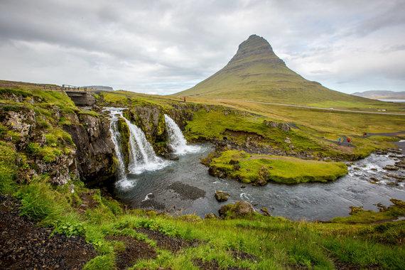 Vidmanto Balkūno nuotr./Islandijos upės ir kriokliai