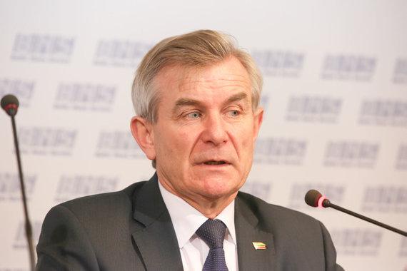 Vidmanto Balkūno / 15min nuotr./Seimo pirmininkas Viktoras Pranckietis