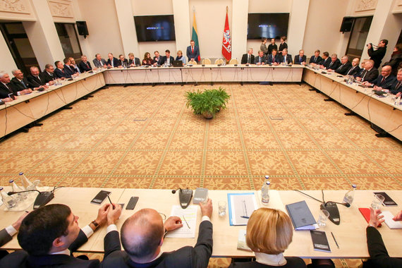 Vidmanto Balkūno / 15min nuotr./Prezidentės ir merų susitikimas