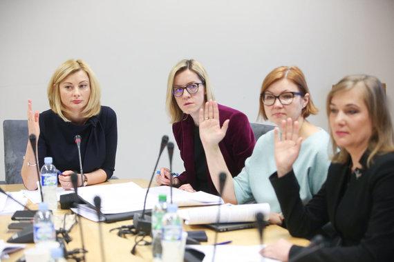 Vidmanto Balkūno / 15min nuotr./ Etikos ir procedūrų komisijos posėdis