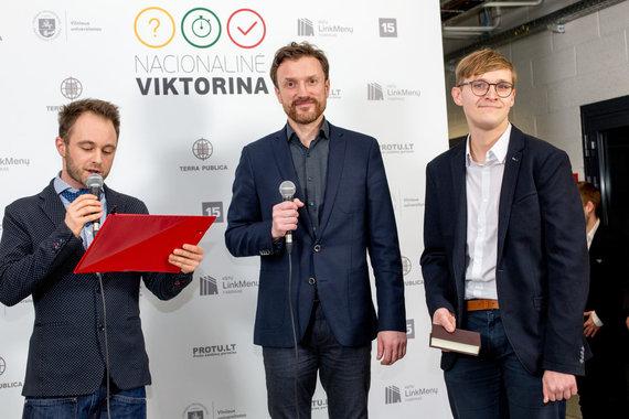 Vidmanto Balkūno / 15min nuotr./Dominykas Vaitiekūnas, Ramūnas Šaučikovas ir Ugnius Antanavičius