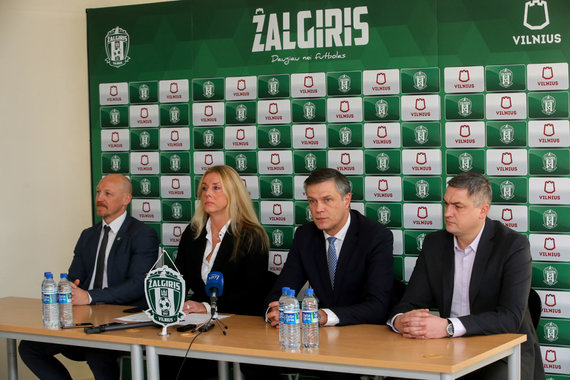 "Vidmanto Balkūno / 15min nuotr./FK ""Žalgiris"" spaudos konferencija"