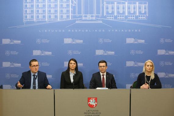 Vidmanto Balkūno / 15min nuotr./Spaudos centre vyksta spaudos konferencija, kurioje pristatomi pirminiai Kalėjimų departamento audito rezultatai