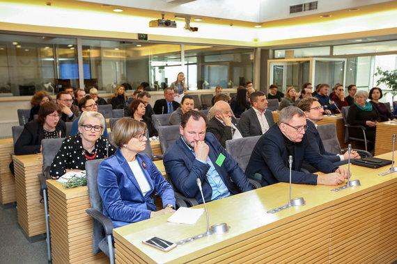 Vidmanto Balkūno / 15min nuotr./Seimo Kultūros komiteto posėdis
