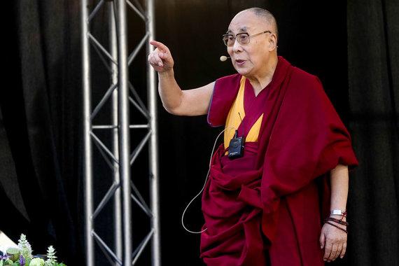 Vidmanto Balkūno / 15min nuotr./Dalai Lamos paskaita Vilniaus universitete