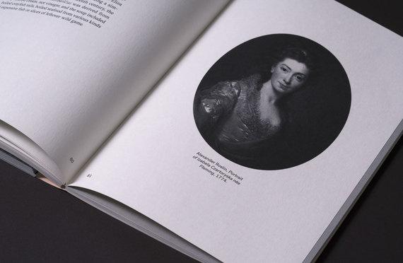 Eglės Juzumienės nuotr./Gastronominės knygos dizainas