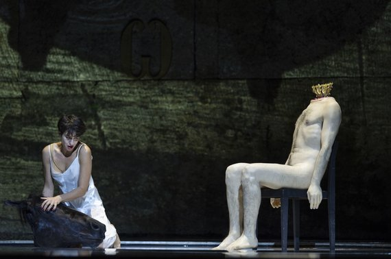 "Salzburger Festspiele/Ruth Walz nuotr./Asmik Grigorian R. Castellucci režisuotoje ""Salomėjoje"""