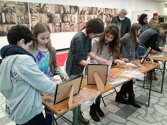Lilijos Valatkienės nuotr./Sudėliok meną. Edukaciniai užsiėmimai Vilniuje