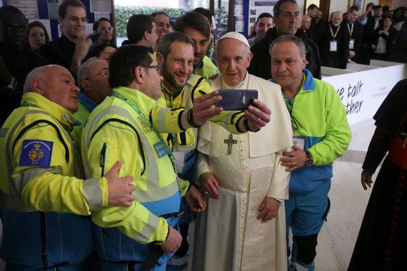"""""""Dicastery for Laity, Family and Life"""" nuotr./Pasaulio jaunimo susitikimas su popiežiumi Pranciškumi"""
