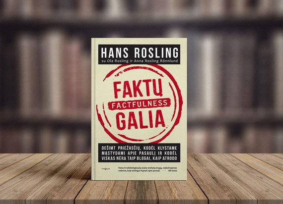 """Hans Rosling """"Faktų galia"""""""
