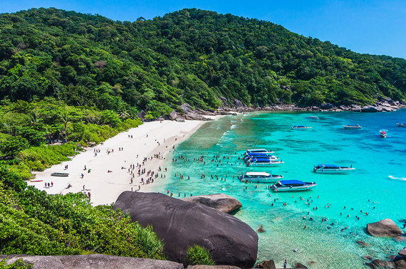 Shutterstock nuotr./Similano salos, Tailandas