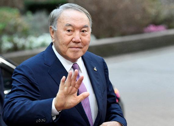 """Reuters""/""Scanpix"" nuotr./Ilgametis Kazachstano prezidentas N. Nazarbajevas"