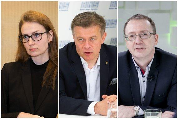 15min nuotr./Rima Urbonaitė, Šarūnas Liekis ir Tomas Janeliūnas