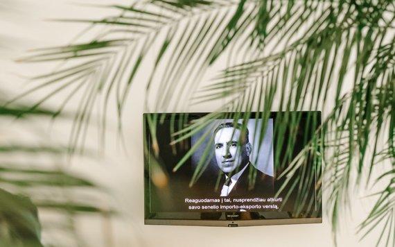 """Dainiaus Putino nuotr./Michaelio Rakowitzo paroda """"Sugrįžimas"""" Šiuolaikinio meno centre"""