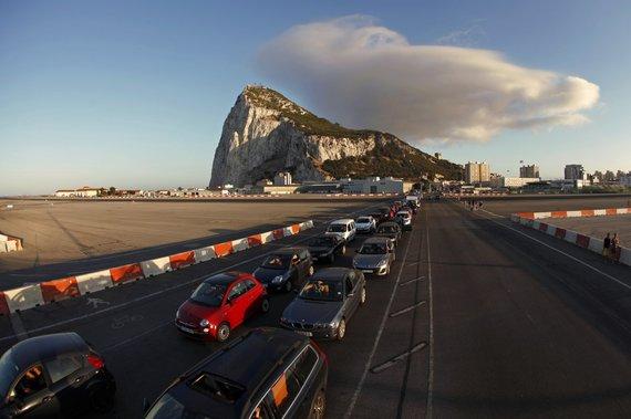 """Reuters""/""Scanpix"" nuotr./Gibraltaro oro uostas"
