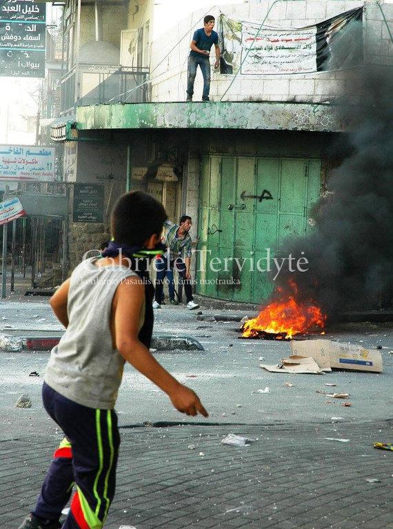 Fotokonkurso dalyvio nuotr./Gabrielė Tervidytė 2014 m. Palestina. Vaikai