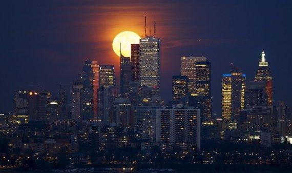 """Reuters""/""Scanpix"" nuotr./Nuostabi pilnatis Toronte"