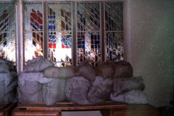 KAM archyvo/Tado Dambrausko nuotr./Parlamento gynyba 1991 m.