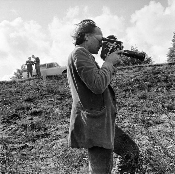 Antano Sutkaus nuotr./Jonas Mekas. 1971