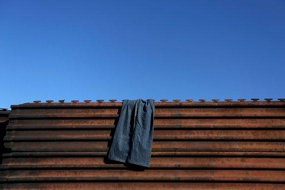 """""""Reuters""""/""""Scanpix"""" nuotr./Gyvenimas prie JAV sienos su Meksika"""