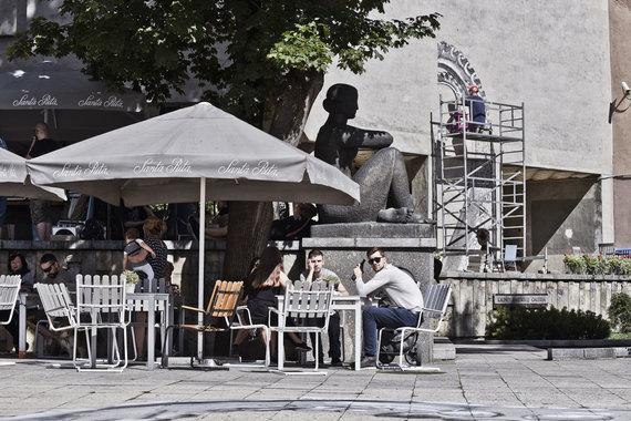 """""""SL Studija"""" nuotr./""""Kaunas Europos kultūros sostinė 2022"""" renginys prie Kauno Paveikslų galerijos"""