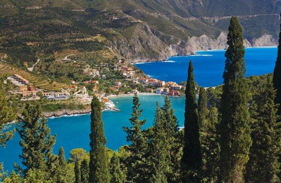 Vida Press nuotr./Kefalonijos sala Graikijoje