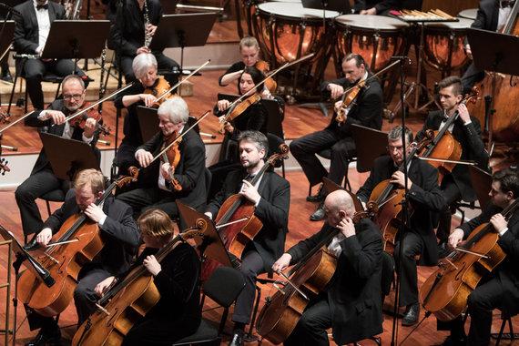 A. Požarskio nuotr./ Lietuvos valstybinis simfoninis orkestras