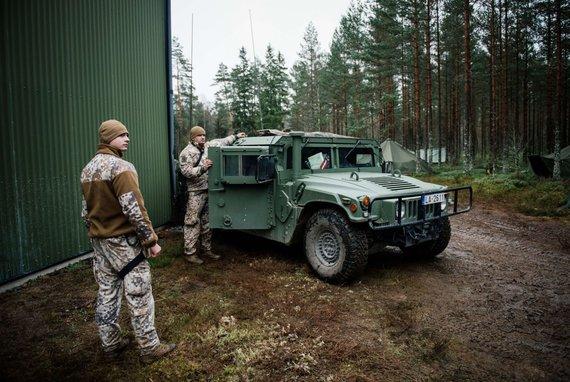 """AFP/""""Scanpix"""" nuotr./Latvijos kariai"""