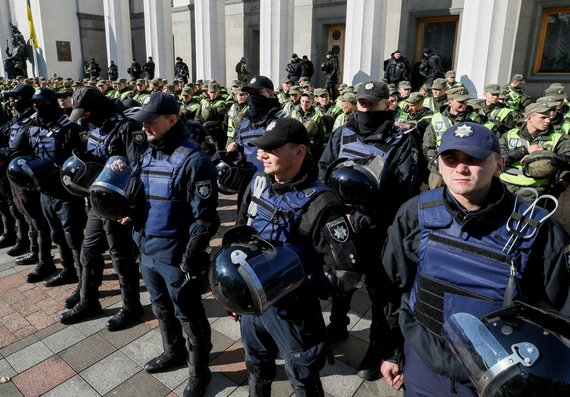 """Reuters""/""Scanpix"" nuotr./Masinis protestas Kijeve"