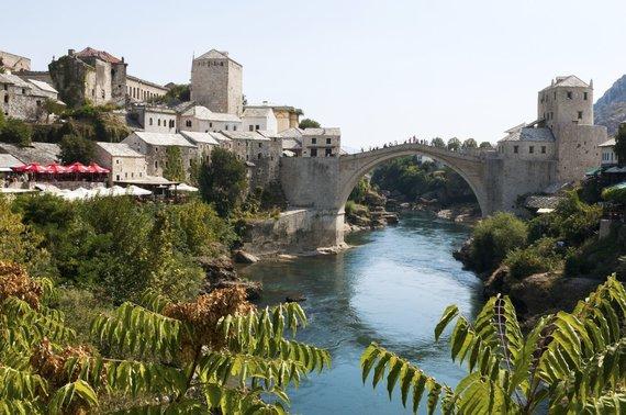 Vida Press nuotr./Mostaro Senasis tiltas