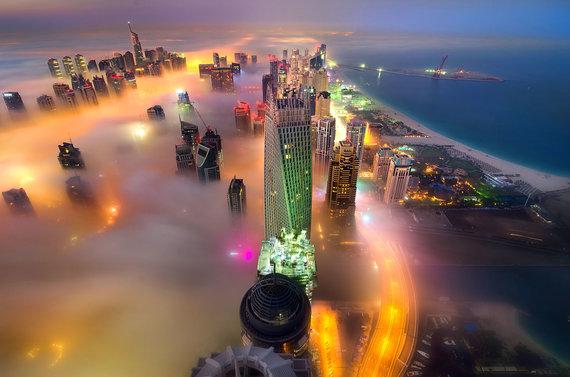 """Scanpix""/""Caters News Agency"" nuotr./Rūke paskendęs Dubajus"