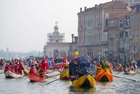 """""""Reuters""""/""""Scanpix"""" nuotr./Venecijos karnavalas"""
