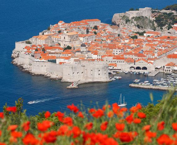 Vida Press nuotr./Pavasaris Dubrovnike, Kroatijoje