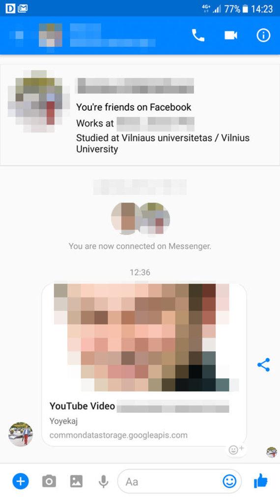 """Juliaus Kalinsko / 15min nuotr./Per """"Messeger"""" plintantis virusas"""