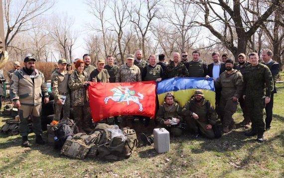 LR Vyriausybės kanceliarijos nuotr./Ministras Pirmininkas Saulius Skvernelis Ukrainoje