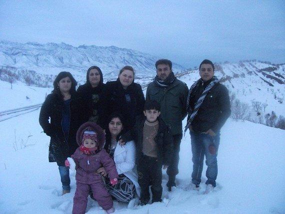 Hemino Sabiro Hamado archyvo nuotr./Vilkaviškyje apsigyvenusi kurdų šeima