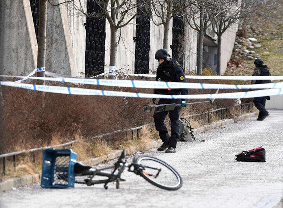 """AFP/""""Scanpix"""" nuotr./Saugumu garsėjančią Švediją plauna smurto banga"""