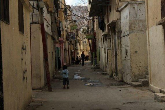Giedrės Steikūnaitės nuotr./Askaro tremtinių gyvenvietė šalia Nabluso miesto