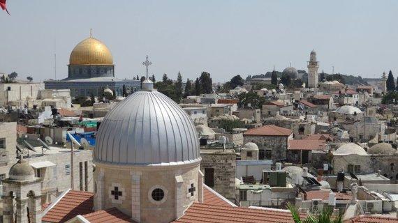 Giedrės Steikūnaitės nuotr./Jeruzalės senamiestis. Vakar JAV į šį Izraelio okupuotą miestą perkėlė savo ambasadą iš Tel Avivo, taip pažeisdamos tarptautinės teisės reikalavimus