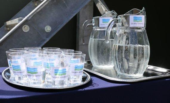 Kauno rajono savivaldybės nuotr./Giraitės vandenų tiekiamas vanduo