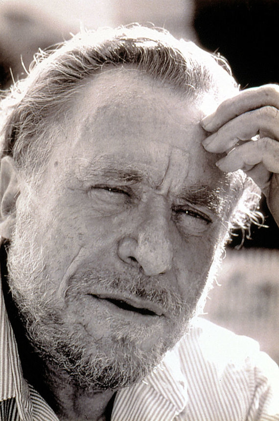 Vida Press nuotr./Charlesas Bukowski
