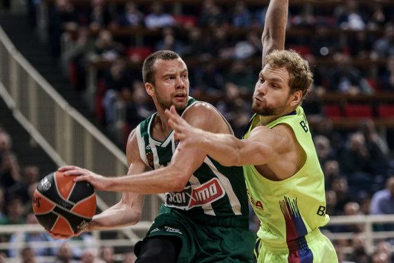 Getty Images/Euroleague.net nuotr./Lukas Lekavičius ir Jaka Blažičius