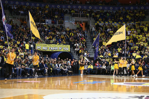 """Getty Images/Euroleague.net nuotr./""""Ulker Sports"""" arena"""